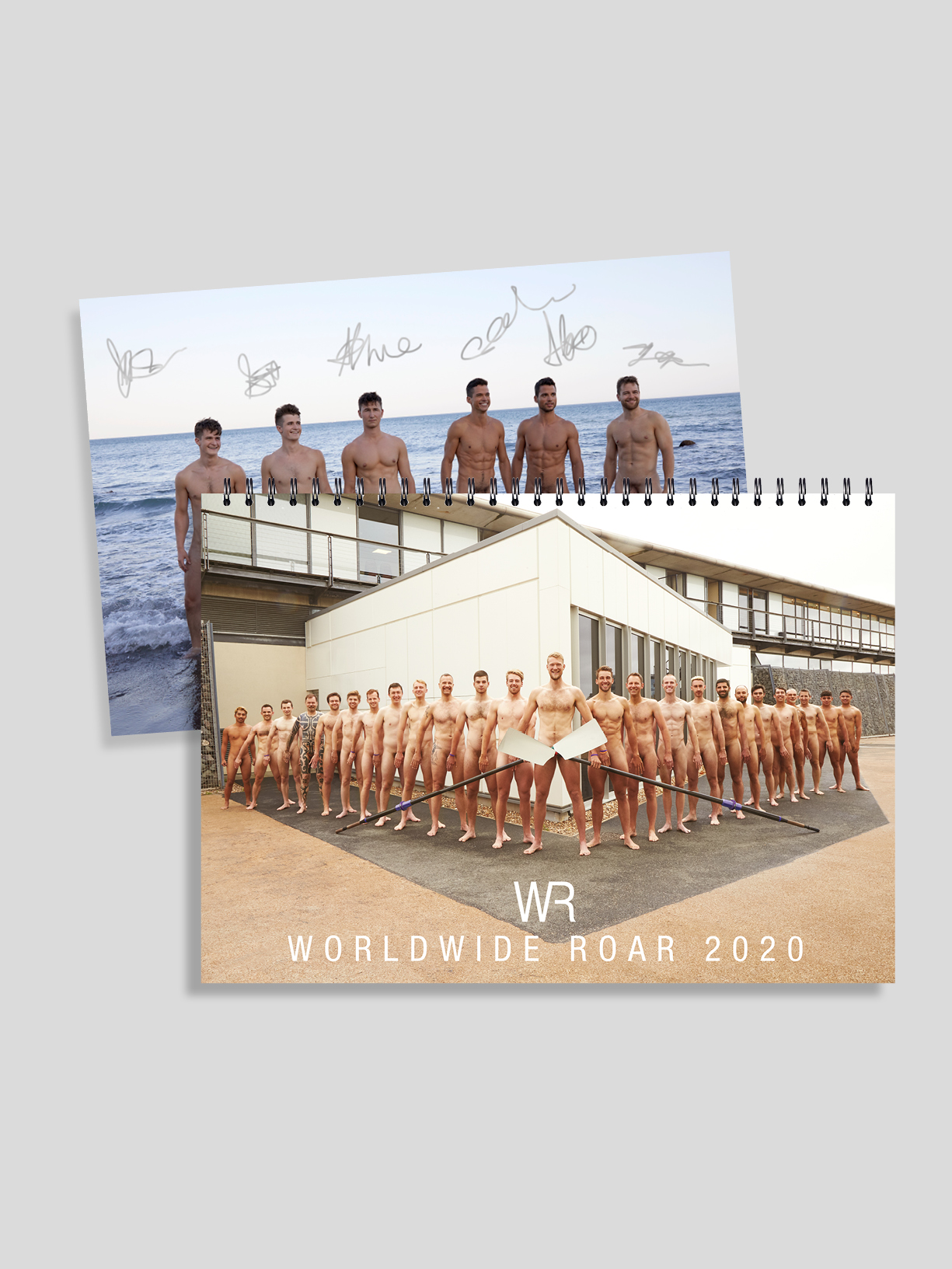 WR20 Signed Calendar Plus Wallpapers